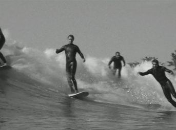 This film features Trevor Gordon, Travers Adler, Tosh Clements, and Spencer Gordon. They love to party wave, and damn it, they're great at it.