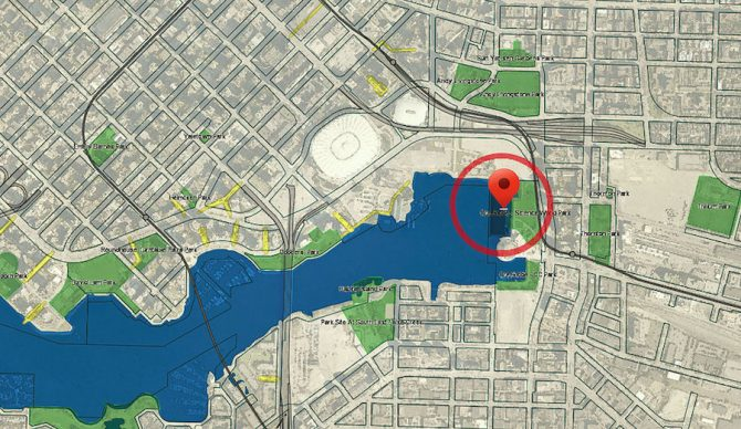 False Creek's water quality inhibits would be swimmers. CitySurf might change that. Photo: CitySurf