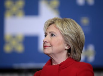 Clinton says no longer can ocean policy be business as usual. Photo: Gage Skidmore