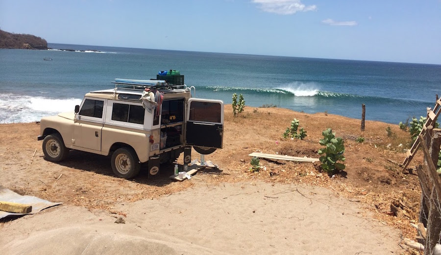 These Guys Took a '76 Landrover Through Central America and Mexico and Scored