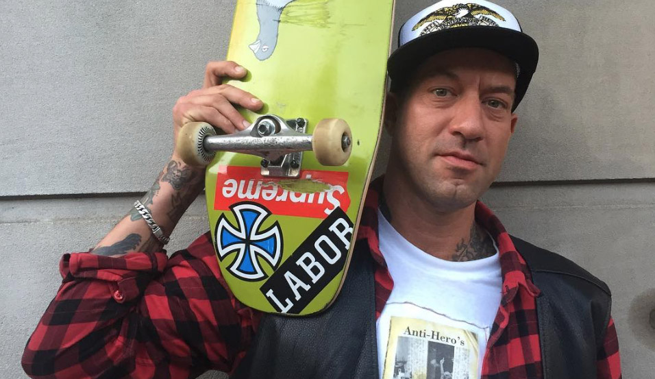 Brian anderson first pro gay skateboarder talks