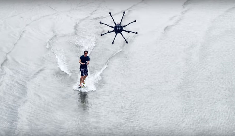 This Powerful Drone Can Actually Pull You Surprisingly Fast