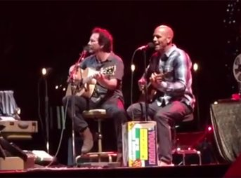 Watch Kelly Slater and Eddie Vedder Jamming Together