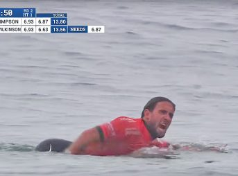 """In most other sports, screaming """"F*CK YOU"""" at a judge or a referee wouldn't just be swept under the rug. Should surfing be any different?"""