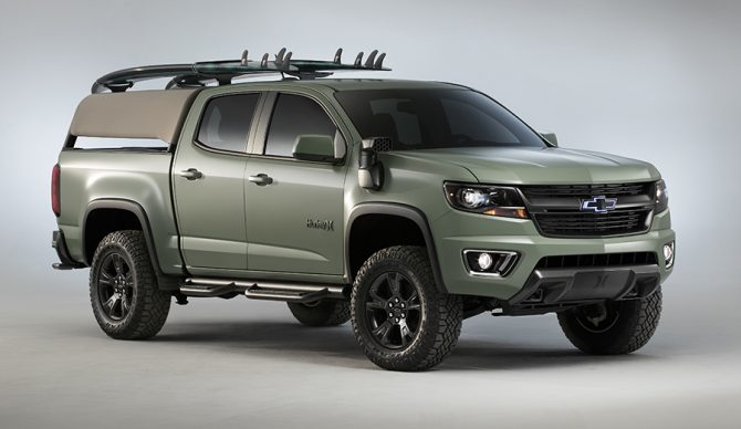 Hurley And Chevy Just Designed A Special Edition Truck For