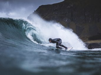 With the onset of thicker more flexible wetsuits, frontiers like Norway are becoming more accessible for surfing. Yet, surfing in Norway is still such an oddity it's caught the attention of the New York Times. Photo: Redbull Content Pool