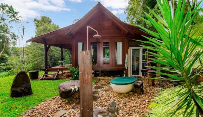 Up for an Australian cabin in the woods? Photo: Airbnb