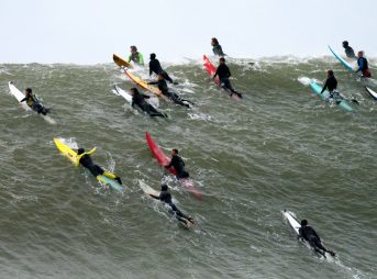 Cartel Management, the company that manages the Titans of Mavericks event, is being sued.