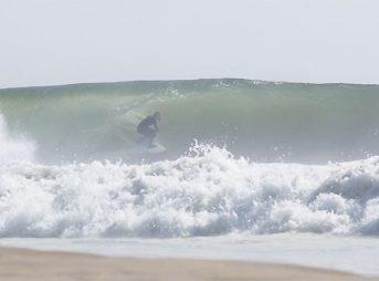 Three waves at Skeleton Bay.