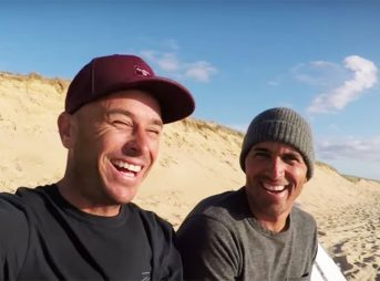 Kelly Slater and Shane Dorian recently partnered with Omaze to do something awesome. Because of it, they've just been awarded the Humanitarian of the Year award by SurfAid.