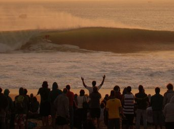 The waiting period for the Rip Curl Pro Portugal begins tomorrow.