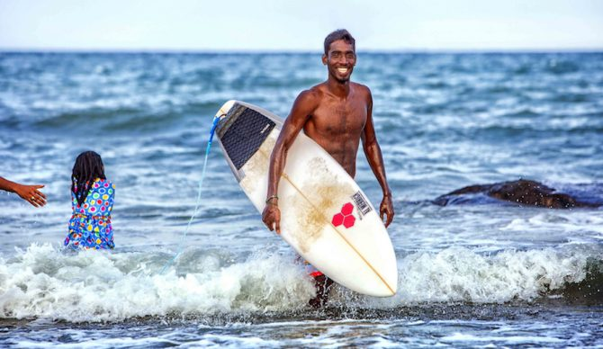 Hailing from a small fishing village named Kovalam, Sekar dropped out of school at 10 to become a fisherman. Photo: Sunder Ramu