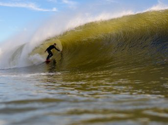 Election Day barrels in Jersey. Photo: Tim Torchia