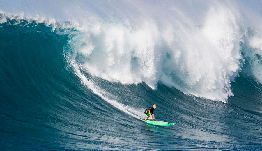Keala Kennelly is on the alternate list for The Eddie. But is it just to appease the masses? Photo: ESPN