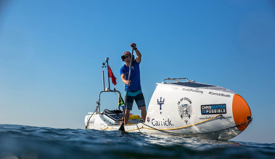 Chris Bertish Set A 300 Mile Sup World Record The Inertia