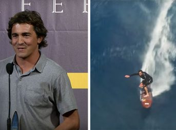 Greg Long went on to win the Surfer Poll Heavy Water Award–no small feat, considering what he went through the season.