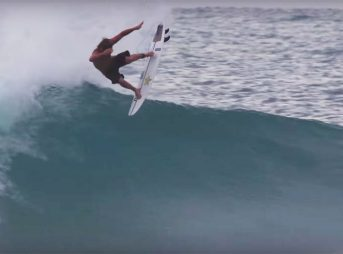 Marzo stepped onto a Slater Designs Omni model and, as he does, made magic happen.