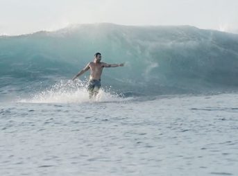 """I think Cloudbreak is the best wave in the world,"""" Joel Parkinson says. """"From two foot to twenty foot, it's regarded as the best left."""""""