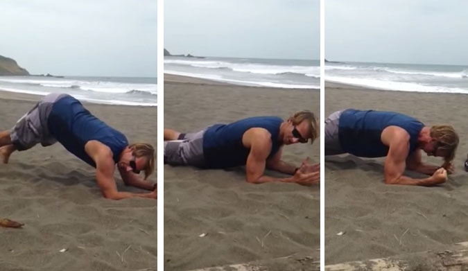 A Note to Surfers: Don't Make These Mistakes with Your Plank