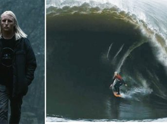 Russell Bierke is made from a different stock than most. Th 18-year-old routinely puts himself on some of the world's heaviest waves and is showing no signs of stopping.