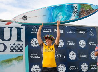Tyler Wright has had an incredible year. Yesterday, she won the Maui Women's Pro, adding another feather in a very feathered cap.