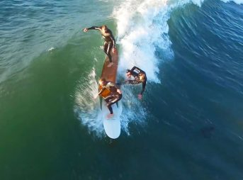 Drone footage changed the surf video game. With their release to the everyday consumer, it became possible the average joe to capture stunning hi-def footage of views we'd never seen.