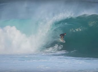Christmas is a time to be thankful, especially for Pipe surfers.