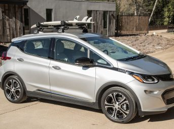 The Chevrolet Bolt EV. You might never visit a gas tank again. (Photo: Martin Klimek/Chevrolet)