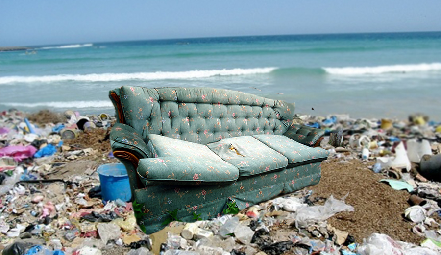 What Seeing An Old Couch Float By In The Lineup Taught Me About Ocean  Pollution