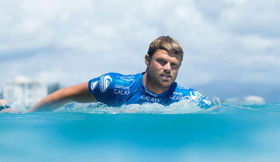 Dane has been held at an airport in Portugal for two days now. Officials say the situation is being resolved. Photo: WSL / Kelly Cestari