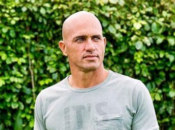 Kelly Slater, gazing stoically at the comments section.