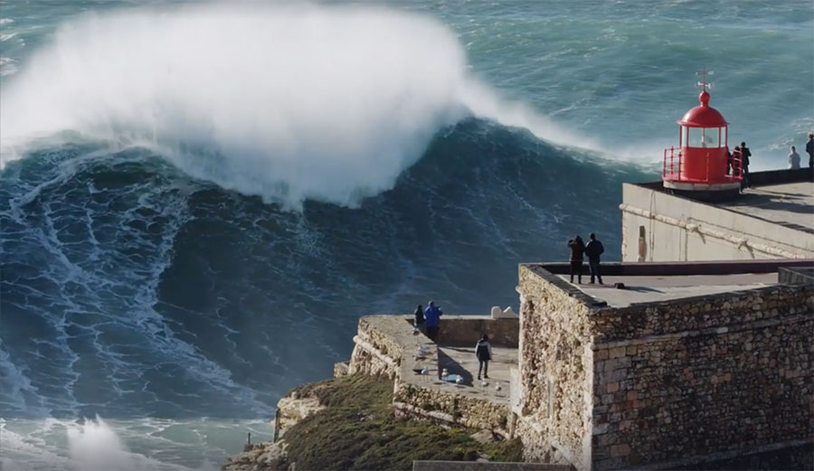 Nazaré is, without a doubt, one of the most powerful waves on earth, and last Thursday, things went absolutely nuclear.