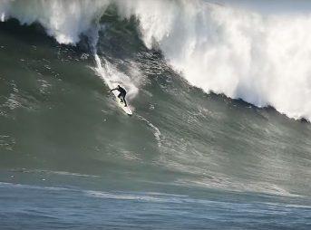 Ben Wilkinson is a big man. He also surfs very, very big waves.