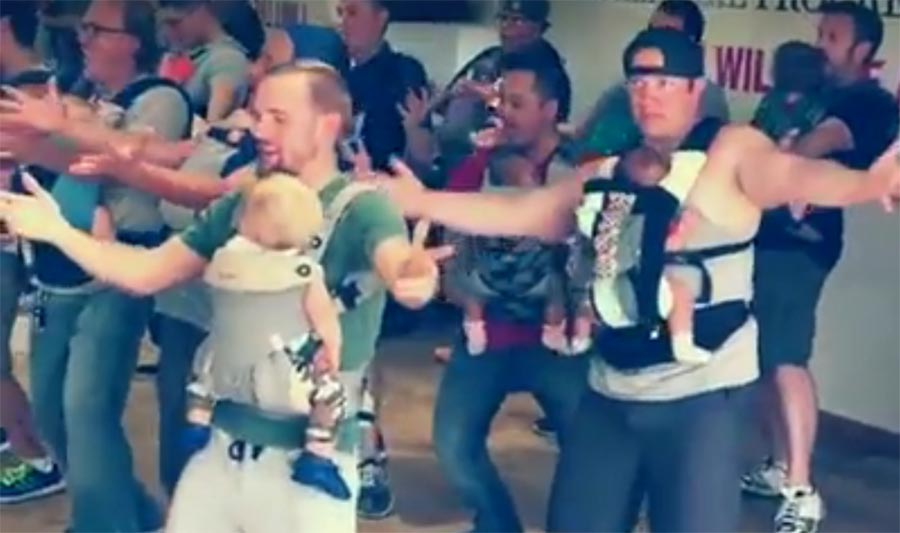 These Dads Dancing With Their Babies Is The Cutest Thing