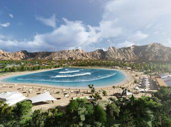A glimpse into a possible future for Coachella Valley, courtesy of an artist.