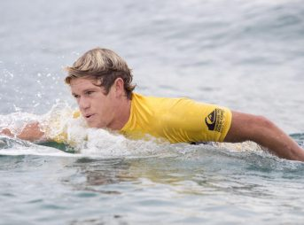 'Ol John John Florence knows a thing or two about paddling around a surfboard. He's learned to become good at paddling mostly because he really likes surfing on top of the waves. Photo: WSL