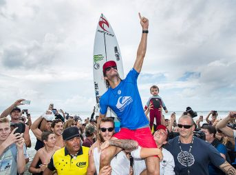Will Owen Wright be 2017's Golden Boy? All signs point to yes. Photo: WSL