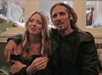 Rob Machado and Sophie Machado