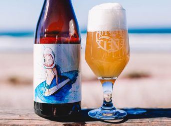 It's a beer... made with sea water. And it's so good!