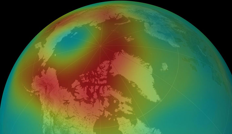 First look at new NASA satellite map reveals global carbon dioxide hotspots.