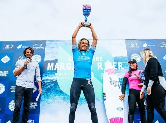 With her fitness on point and her confidence soaring, it's not hard to see Sally Fitzgibbons taking a commanding lead in the race for the world title.