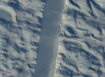 NASA Bewildered by Massive New Crack in Greenland Glacier
