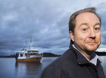 Kjell Inge Roekke, a Norwegian billionaire, is giving away most of his fortune to build a state-of-the-art ocean research vessel. Photo: Helge Makalsen VG/e24.no