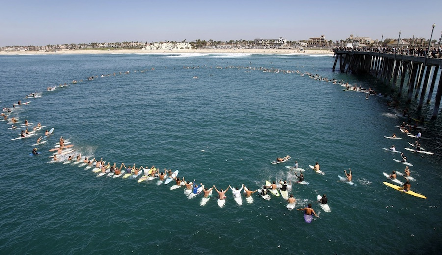 Hb To Set Record For Largest Paddle Out Ever The Inertia