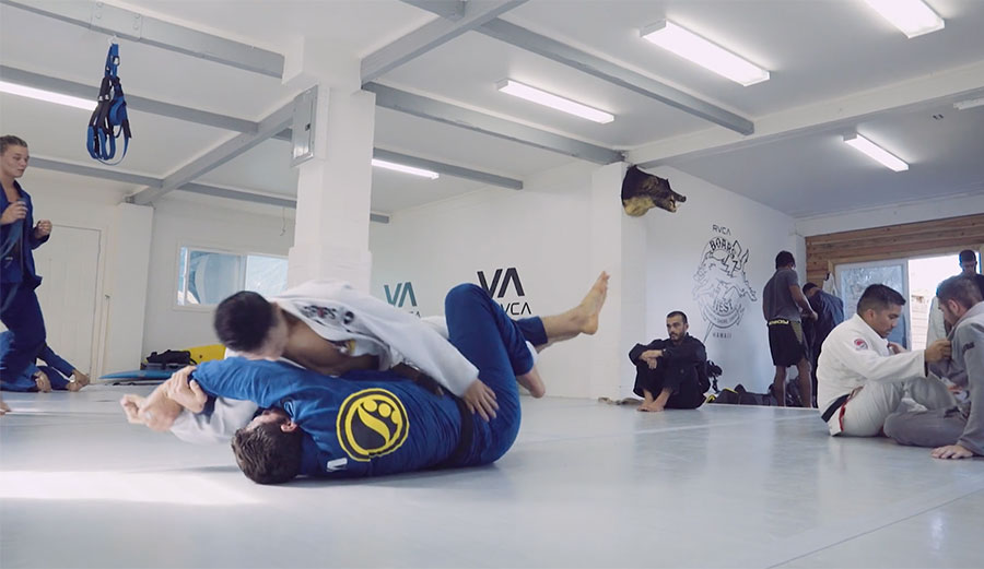 Jiu-jitsu and surfing are strange bedfellows, but bedfellows they are.