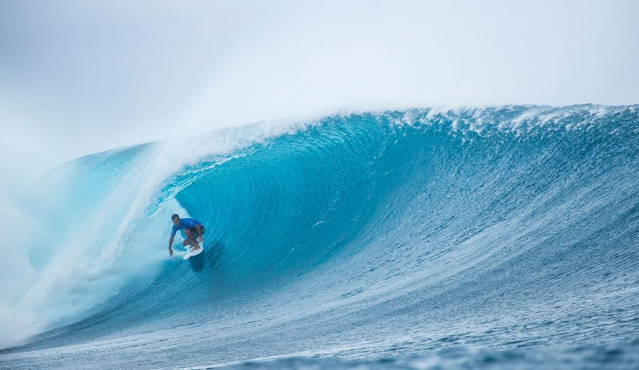 Yesterday was the first day of the Outerknown Fiji Pro, and it did not disappoint.