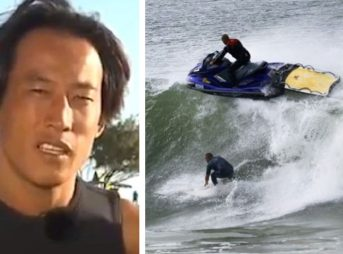 Sam Yoon has had enough of Jet Skis in the lineup.