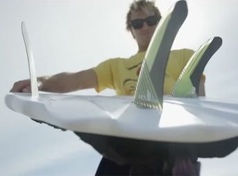 Ian Crane makes ...Lost's V3 Stealth look quite a bit better than the everyday surfer could, but still. You get the idea.