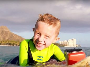 Meet Tyler Purcell, a 5-Year-Old Pro Surfer