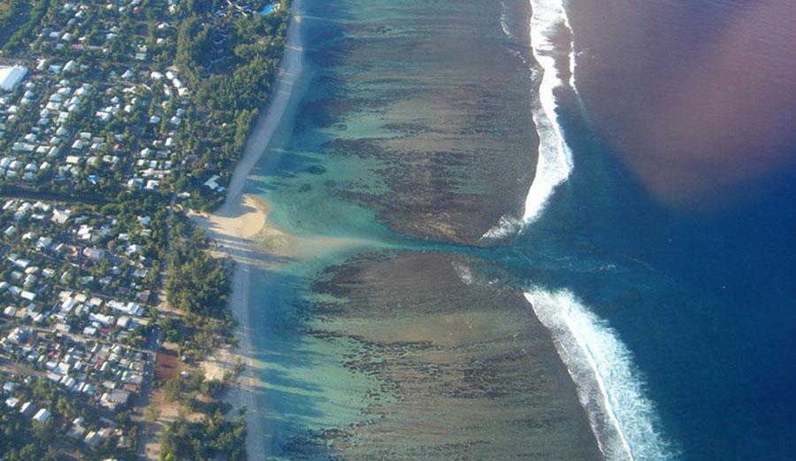 Lagoon, La Réunion. Image:  Mai-Linh Doan/Wikipedia, CC BY-SA